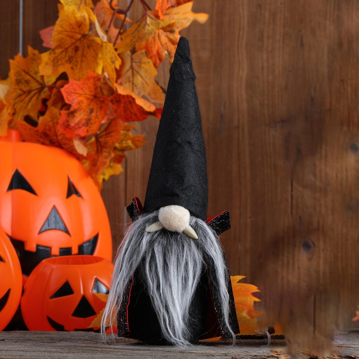 Орнамент в форме гнома на хэллоуин