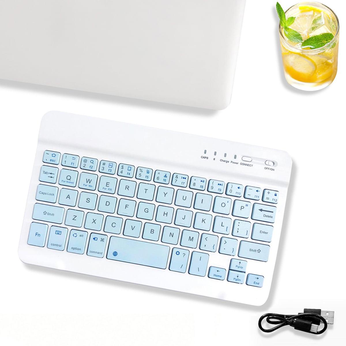 10 дюймов Беспроводная клавиатура Bluetooth