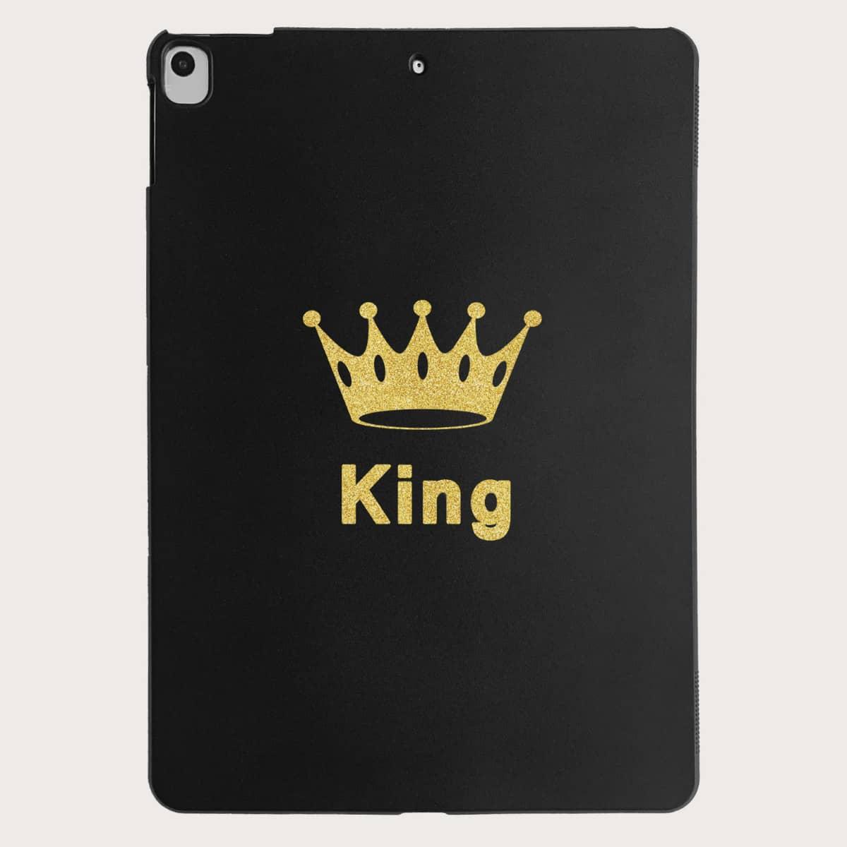 Чехол для iPad с узором короны