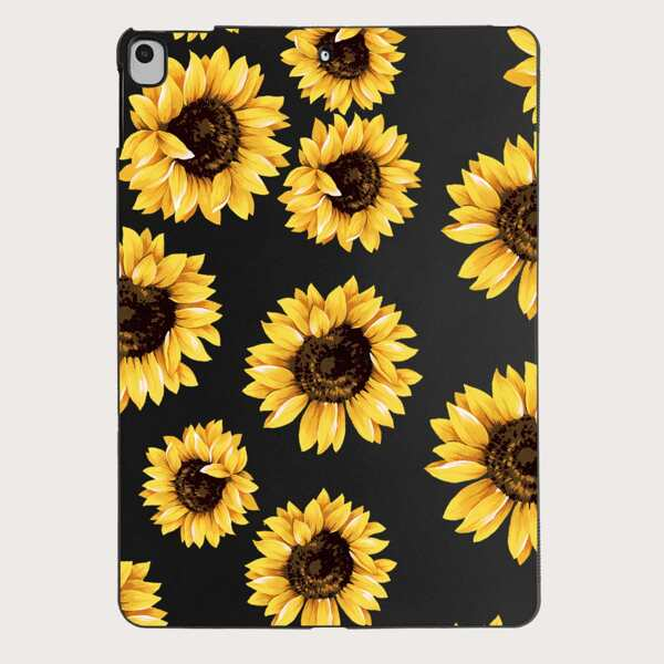 Sunflower Pattern Case For iPad, Multicolor