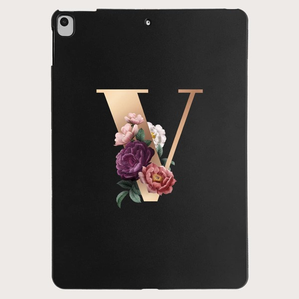 Letter Graphic Case For iPad, Multicolor