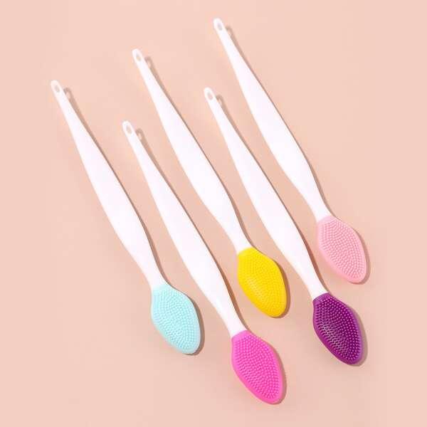 1pc Random Color Comedo Cleaning Brush, Multicolor