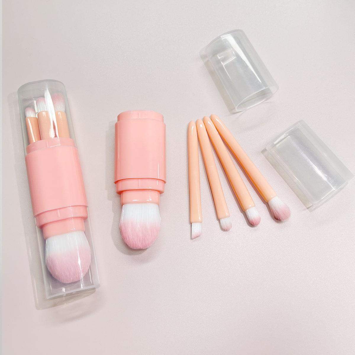 5pcs Multifunction Makeup Brush With Storage Box
