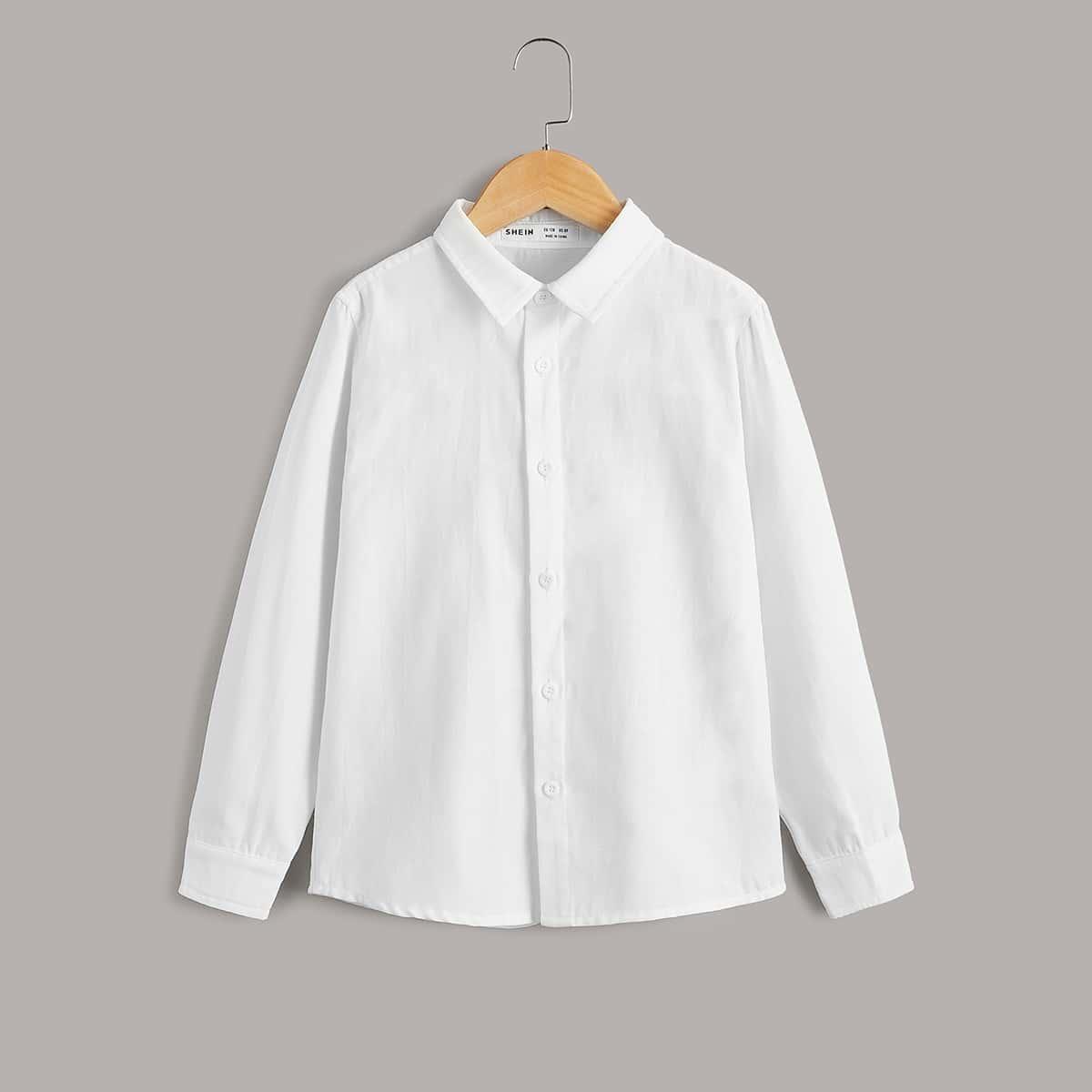 для мальчиков Рубашка на пуговицах