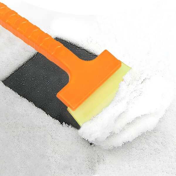 Simple Ice Scraper For Car, Yellow