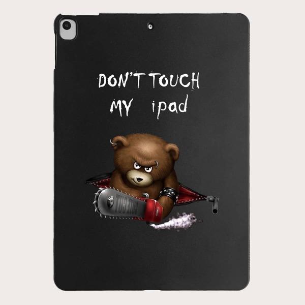 Bear Pattern Case For iPad, Multicolor