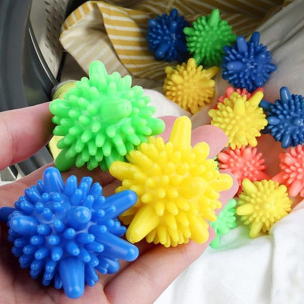 3pcs Random Color Laundry Ball, Multicolor