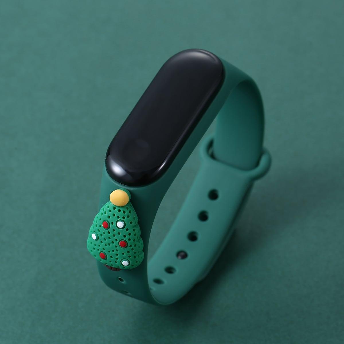 Christmas Tree Design Electronic Watch