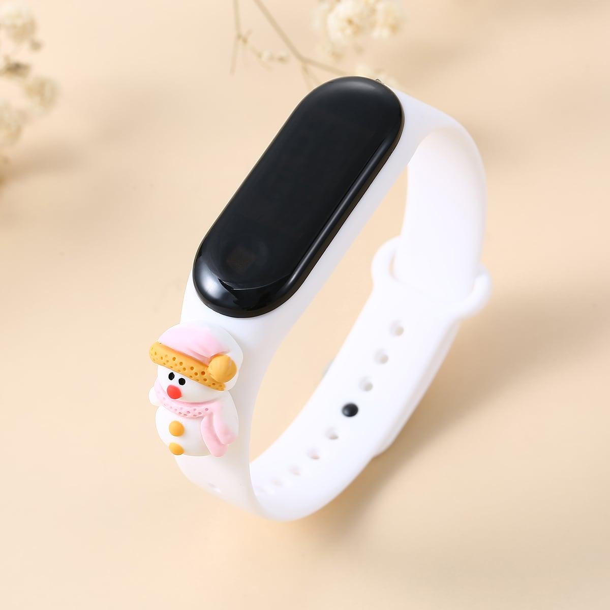 Christmas Snowman Design Electronic Watch