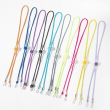 10pcs Solid Face Mask Chain