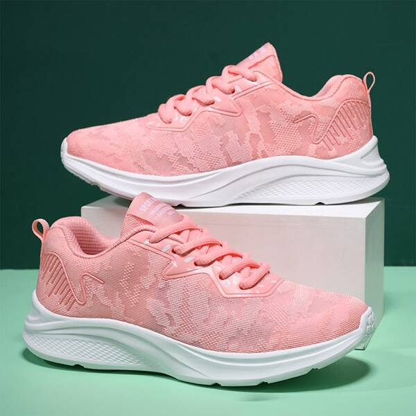 Minimalist Breathable Running Shoes, Pink