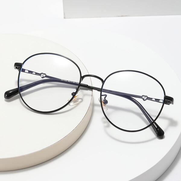 Round Frame Anti-blue Light Eyeglasses