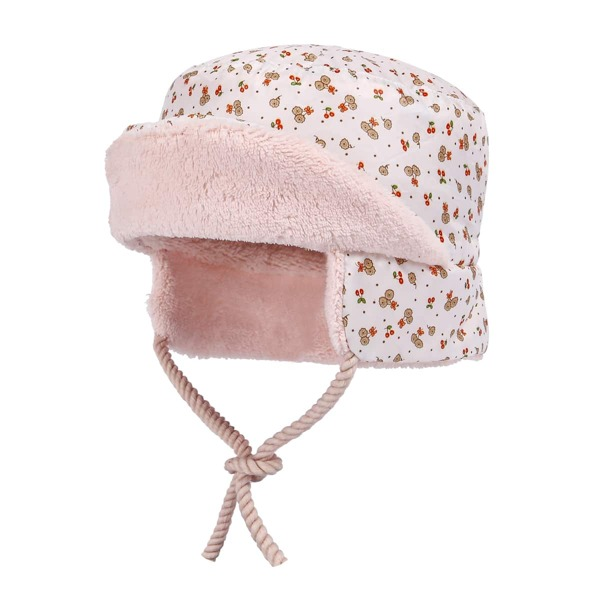 Baby Floral Print Hat, Multicolor