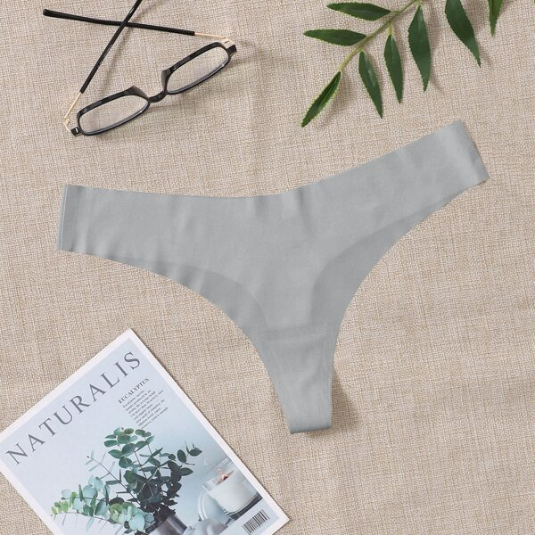 Absorbs Sweat & Breathable Sports Brief, Light grey