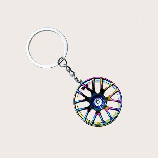 Tire Design Car Ornament, Multicolor