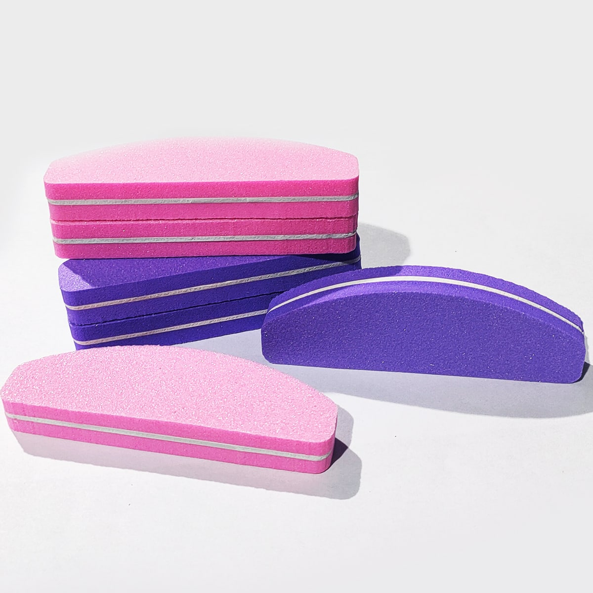Double-sided Sponge Nail File, SHEIN  - buy with discount