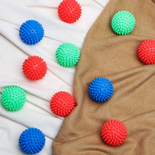 4pcs Random Color Cleaning Ball, Multicolor