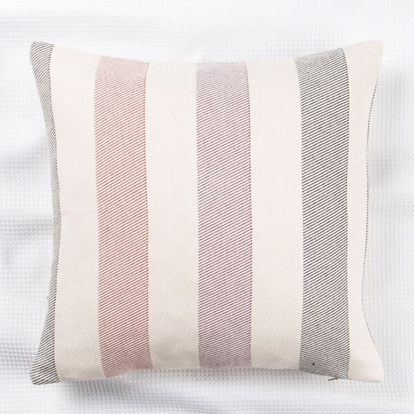 Striped Pattern Cushion Cover Without Filler, Multicolor