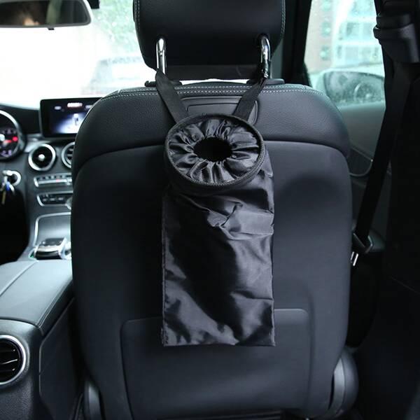 Car Seat Back Storage Bag, Black