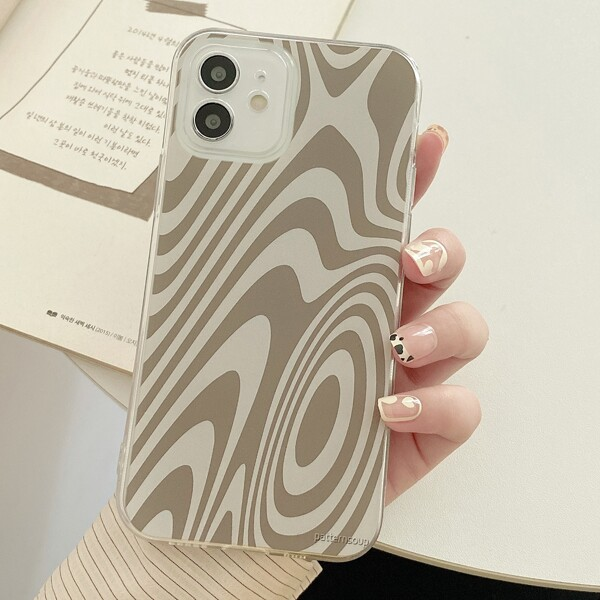 Twisted Line Phone Case, Multicolor
