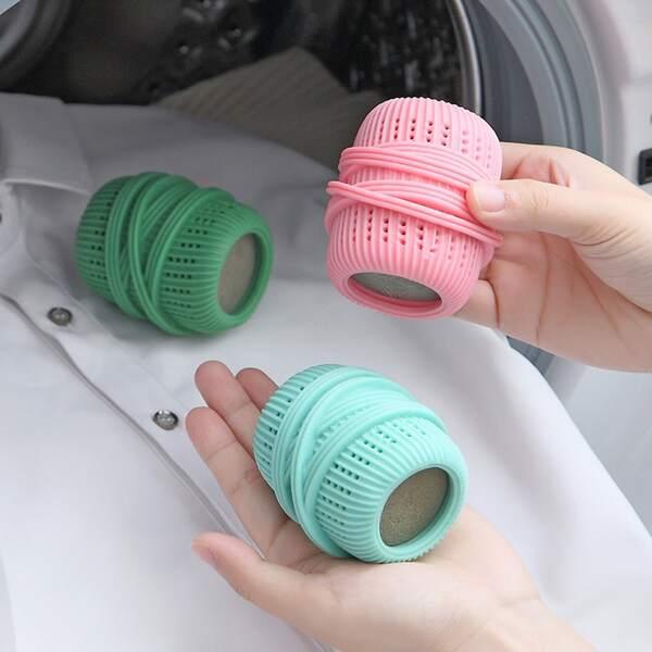 1pc Random Color Laundry Ball, Multicolor