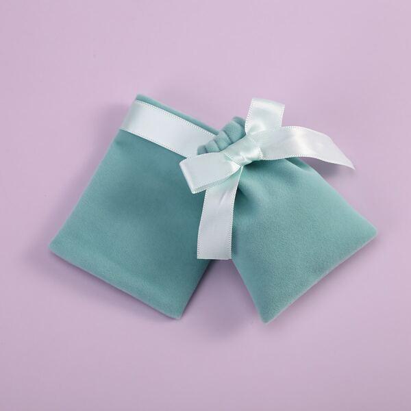 5pcs Mini Gift Bag, Green