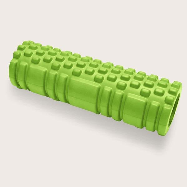Yoga Foam Grid Roller, Green
