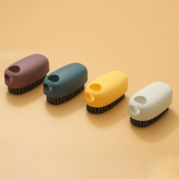 1pc Random Color Clothes Cleaning Brush, Multicolor