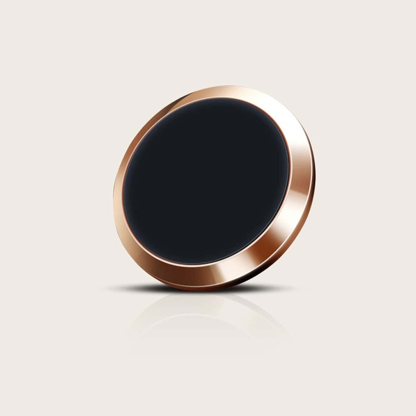 Magnetic Car Phone Holder, Gold