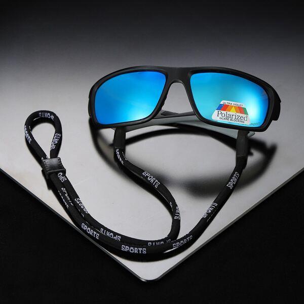 Polarized Sports Sunglasses, Blue
