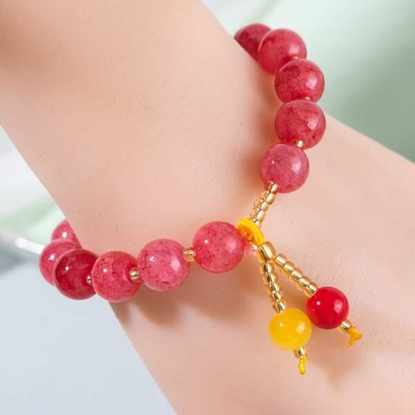 Minimalist Beaded Bracelet, Multicolor