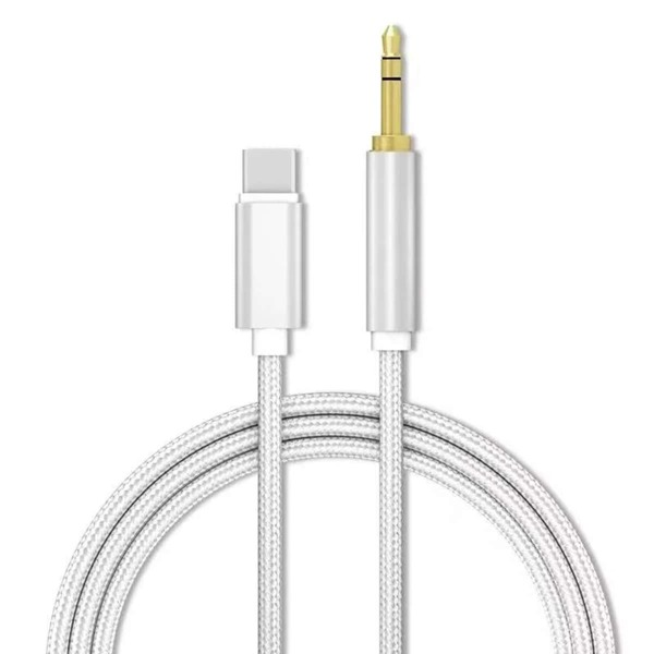 Type-C Audio Cable, Silver