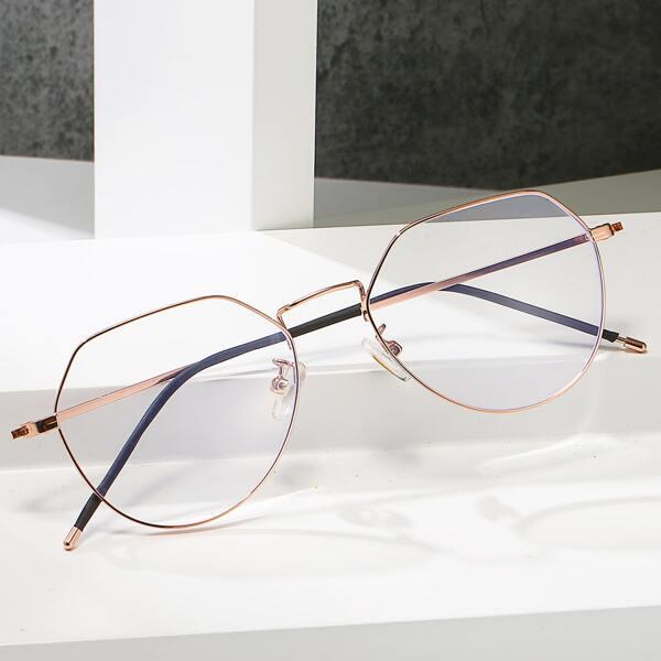 Metal Frame Anti-blue Light Eyeglasses