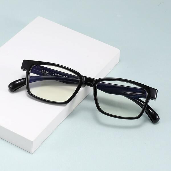 Toddler Kids Anti-blue Light Eyeglasses, Black