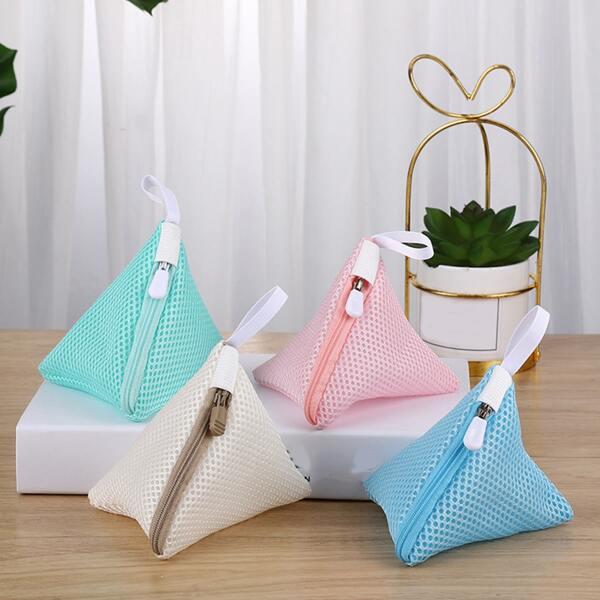 1pc Random Color Laundry Bag, Multicolor