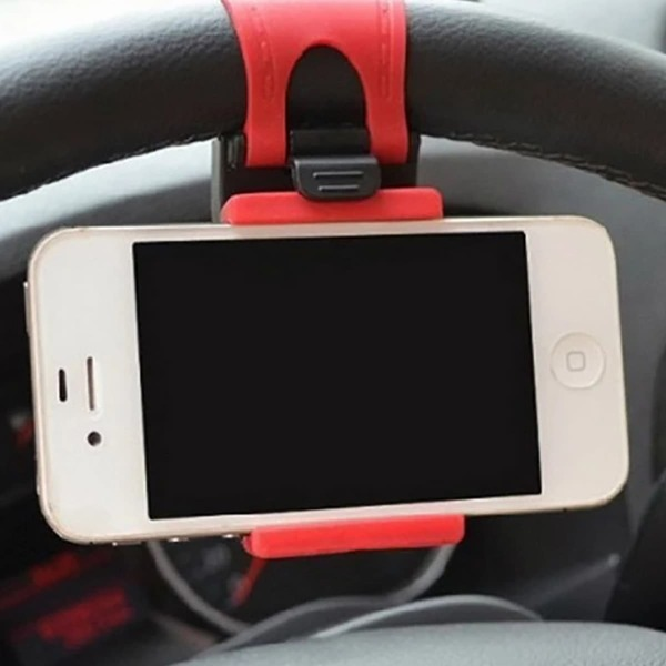 Car Phone Holder, Red