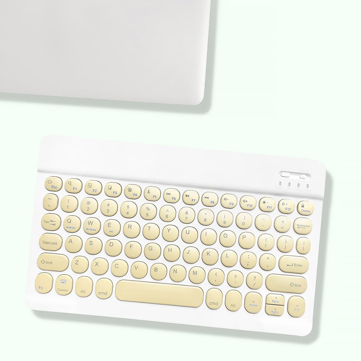 10 дюймов Клавиатура круглый ключ беспроводной