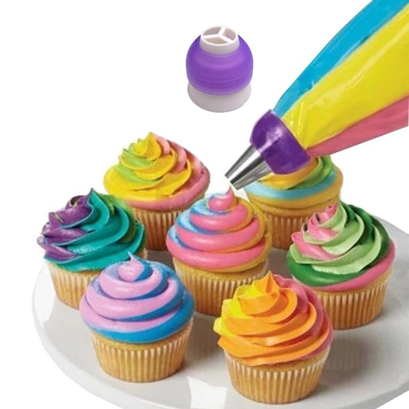1pc Cake Decorating Converter, Purple