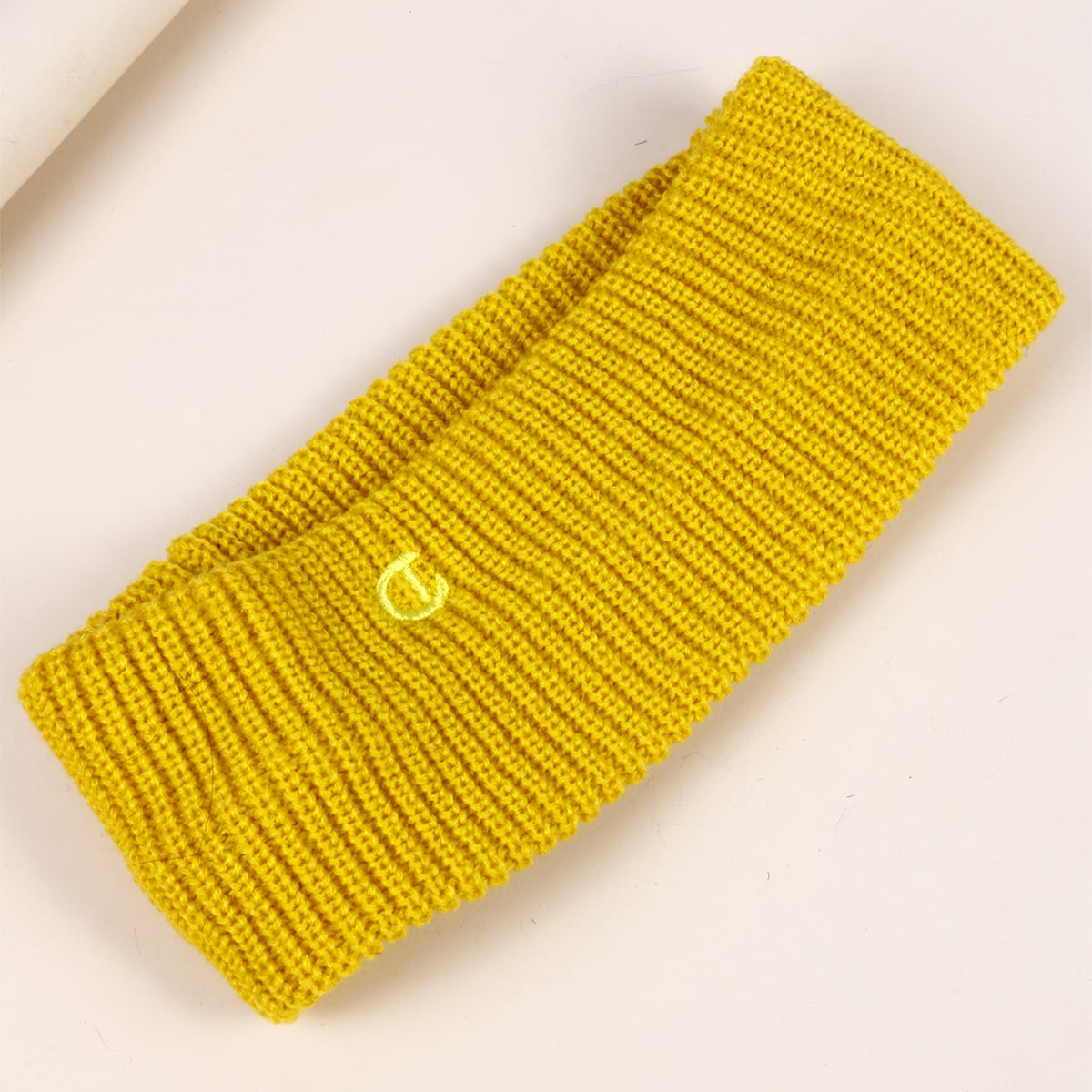 Letter Embroidered Hair Band