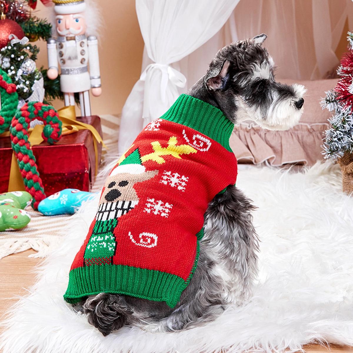 Christmas Deer Pet Sweater