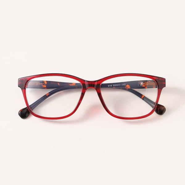 Geometric Frame Eyeglasses