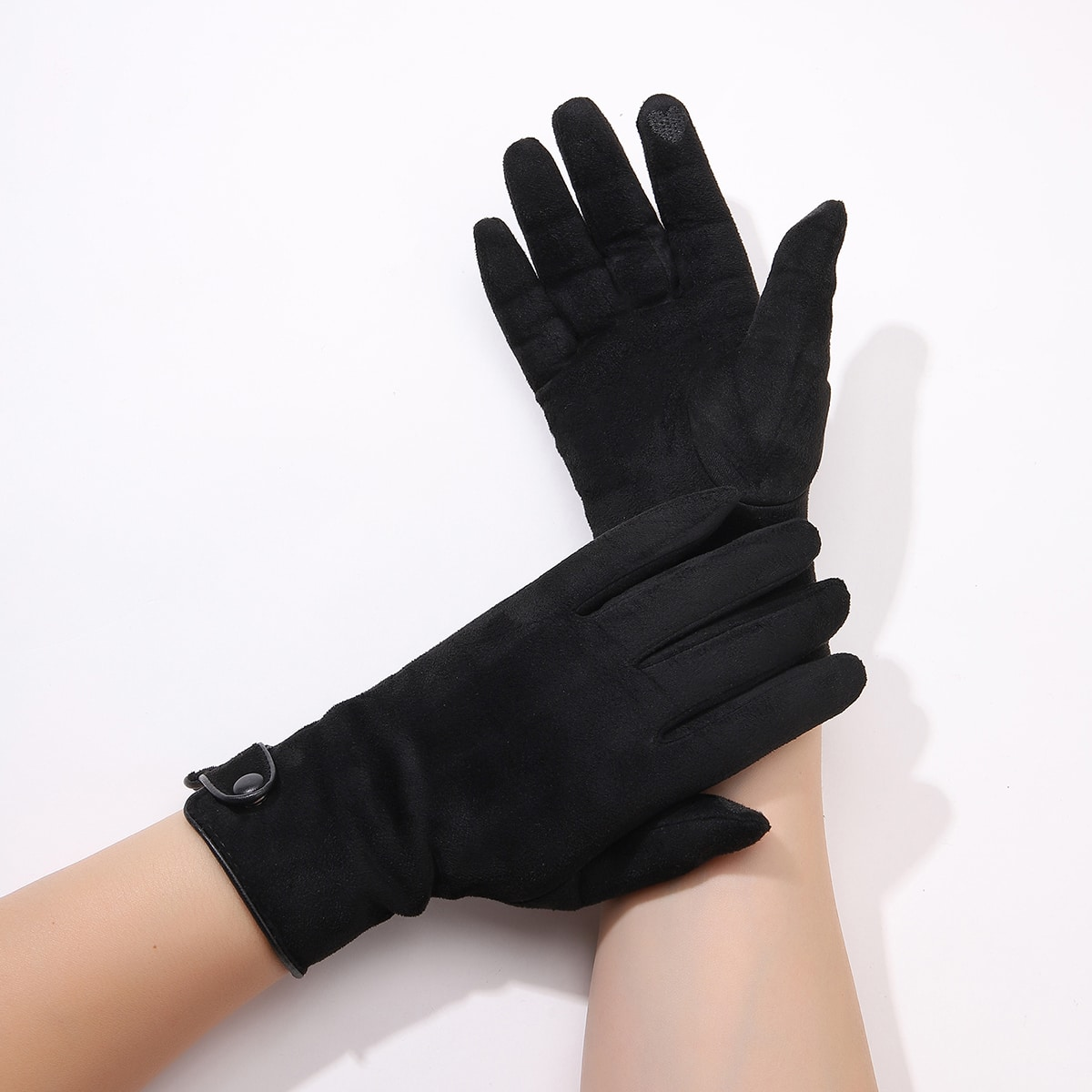 Simple Solid Gloves