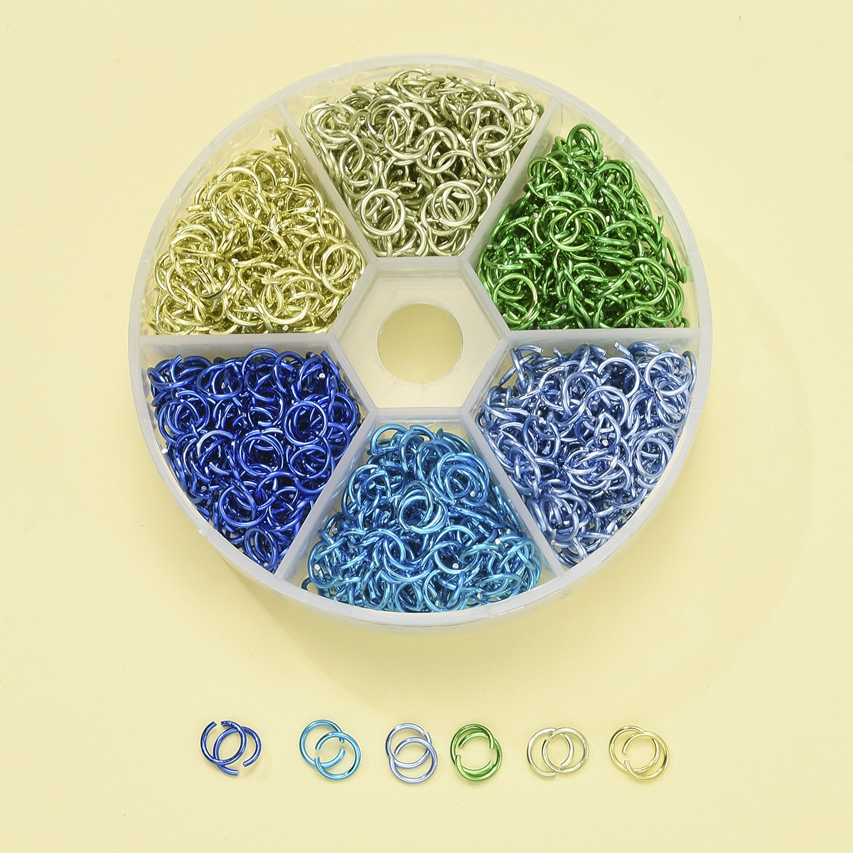 1box Open Circle DIY Jewelry Accessory