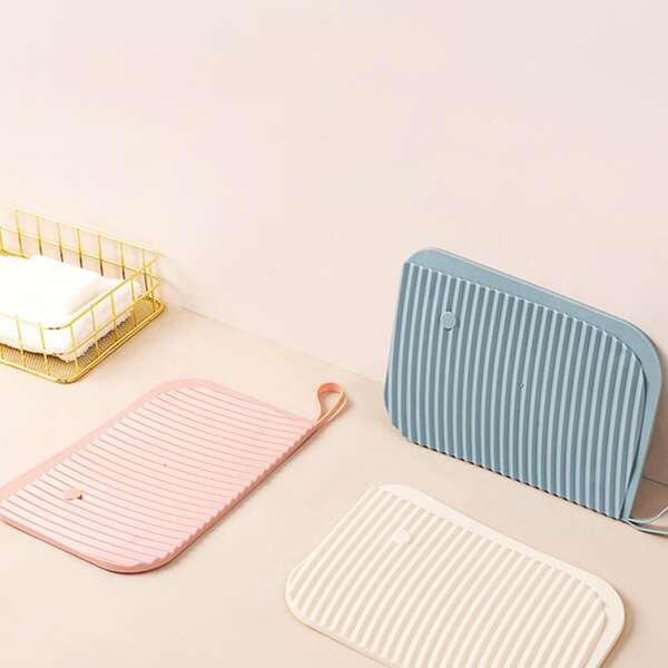 1pc Random Color Mini Washboard, Multicolor