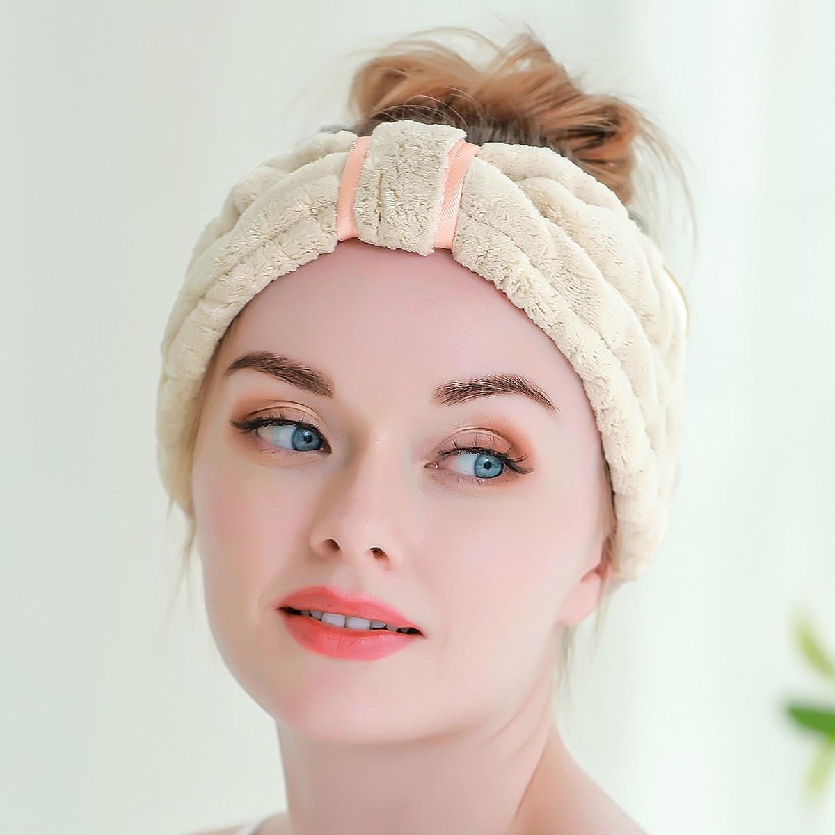 1шт Повязка на голову для ванны