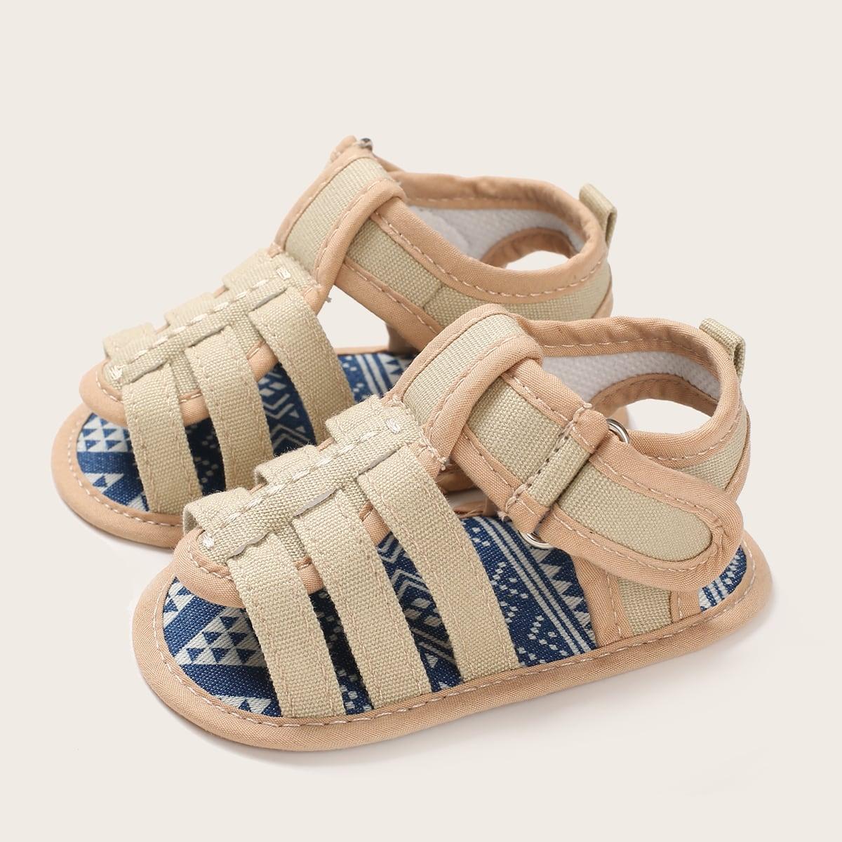 Baby Open Toe Strap Flat Sandals