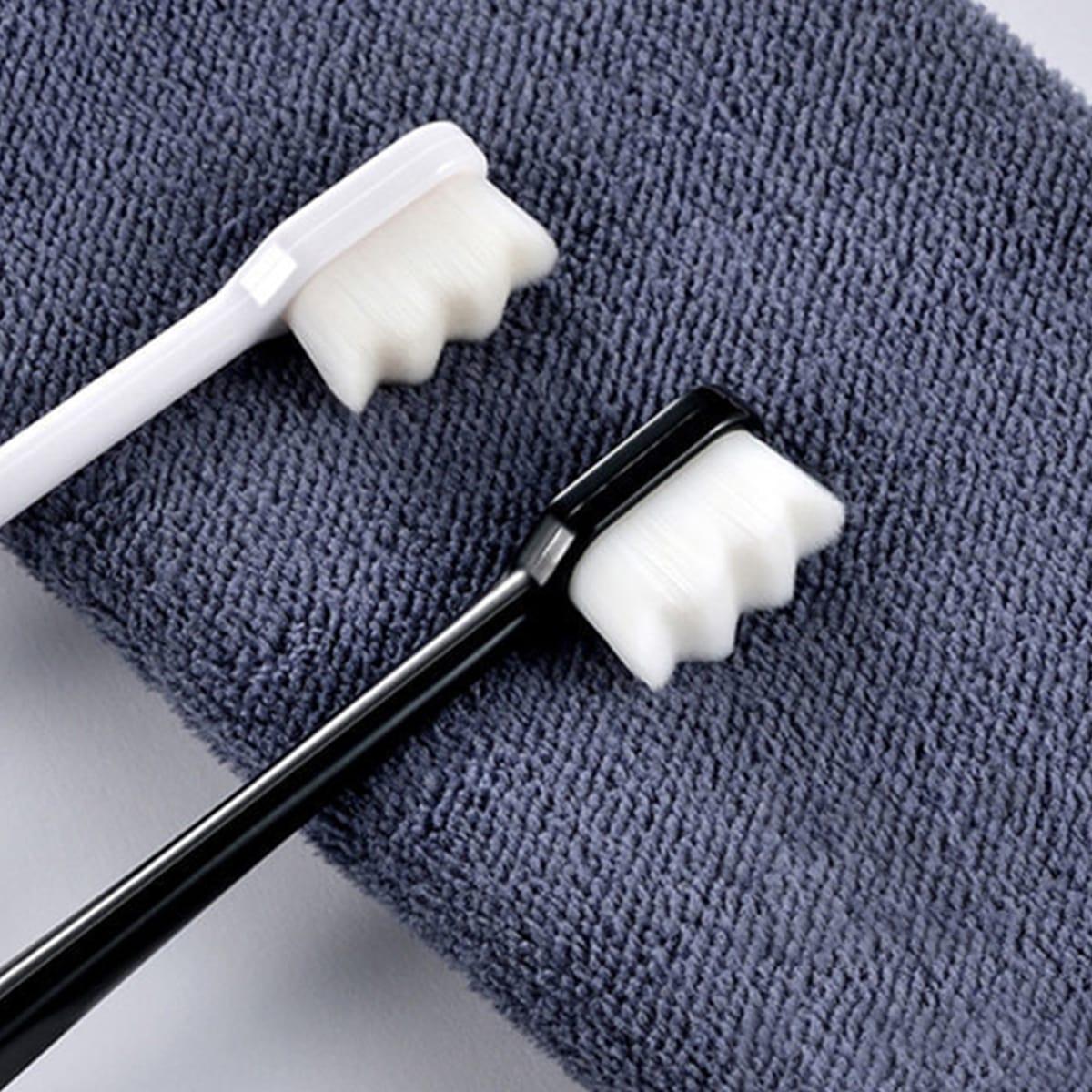 1шт Зубная щетка случайного цвета