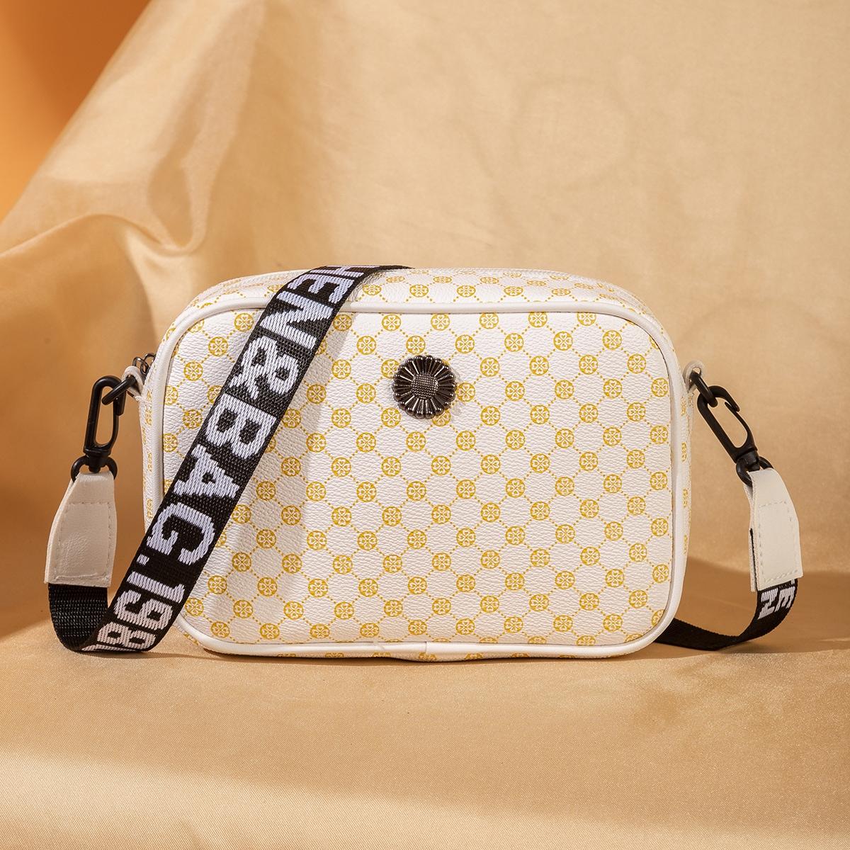 Geometric Graphic Square Bag