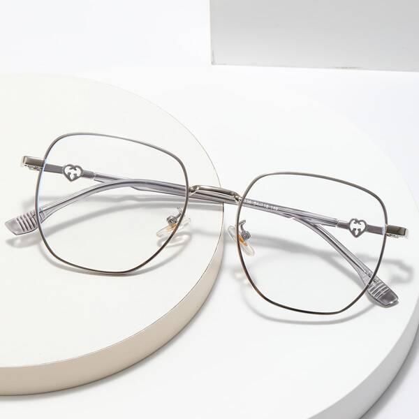 Heart Decor Anti-blue Light Eyeglasses