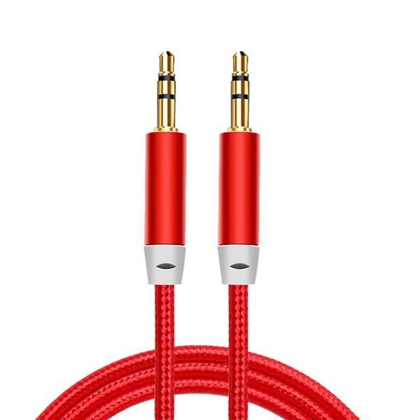 3.5mm Car Audio Cable, Red